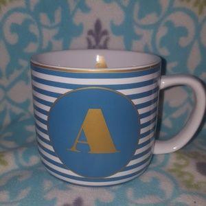 Letter A mug